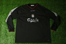 LIVERPOOL ENGLAND 2002/2004 FOOTBALL SHIRT JERSEY AWAY REEBOK ORIGINAL SIZE XXL