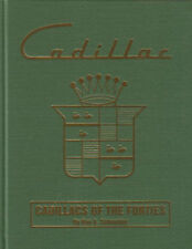 CADILLAC BOOK FORTIES 40's SCHNEIDER FOURTIES LASALLE