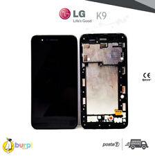 TOUCH SCREEN VETRO + DISPLAY LCD PER LG K9 2018 NERO + FRAME LM-X210EM LMX210EM