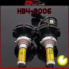 HB4 9006 Kit Set Dipped Low Beam X3 Headlight Yellow Led Light Bulbs Canbus