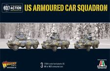 28mm US M8/M20 Armoured Car squadren, BNIB. WWII Bolt Action
