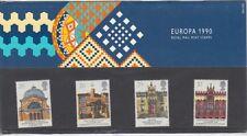 GB 1990 EUROPA architetti presentazione Pack NO. 206 SG: 1493 -1496 Nuovo di zecca stamp