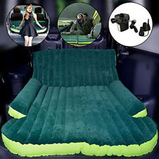 Travel Car Back Seat Air Bed Auto SUV Inflatable Mattress Camping Double Sofa
