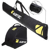 Two Piece Ski Bag and Boot Bag Combo for 1 Pair of Ski Length Up To 200cm