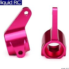 Traxxas 3636P Steering blocks; Pink Anodized Rust/Bandit/Stamp