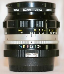 Nikon Nikkor N Auto 24mm f/2.8 Made 1968 Pre AI GREAT