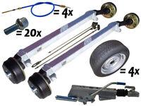 V-2700 kg TANDEM AM:1500 | Anhänger Achsen Fahrgestell Satz (+Räder) BWN-Schlegl