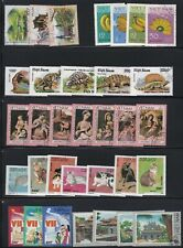 VIET NAM LOT / COLLECTION OF 40 COMPLETE SETS + 4 SOUVENIR SHEETS