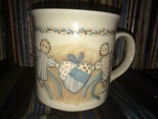 Otagiri Coffee Tea Cup Mug Rag Dolls Pickaninny Heart Karen Armstrong Japan NICE