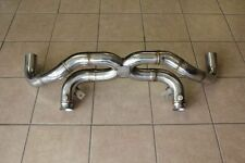 Fits Lamborghini Gallardo Coupe & Spyder 04-08 Race Straight Pipe Exhaust System