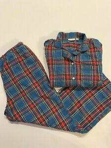 L.L.Bean Pajama Pants Set Men's Medium Top and Bottom Flannel Sleep Set