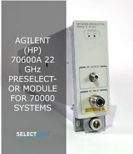 Agilent Hp 70600a 22 Ghz Preselector Module For 70000 Systems Look Ref G