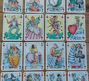 Carnavals French Playing Cards Grimaud Paris