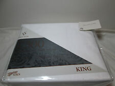 New Venus Suite VS. White King Sheet Set ~ 300 TC 100% Cotton Twill Weave NIP