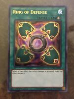 DP2-EN026 1st Edition Moderately Played YuGiOh Ring of Defense Ultra Rare