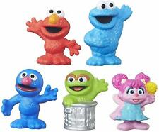 Playskool Friends Sesame Street Collector Pack 5 Figures Cake Toppers NEW