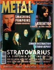 METAL SHOCK N°307/2000 STRATOVARIUS KENZINER HADES KREATOR SMASHING PUMPKINS