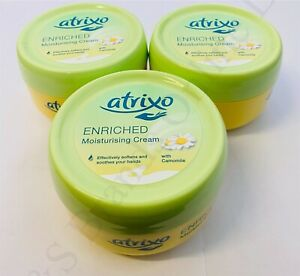3 x Atrixo Enriched Moisturising Cream 200ml