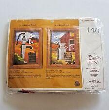 Creative Circle Kit 140 Vintage Pump 5 x 7 Persian Wool Yarn Vintage 1983 USA