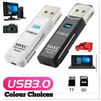 SanFlash PRO USB 3.0 Card Reader Works for BLU Dash L4 LTE Adapter to Directly Read at 5Gbps Your MicroSDHC MicroSDXC Cards