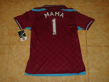 West Ham Womens Soccer Jersey Umbro Ladies Top Football Shirt Hammers Mama 1 New