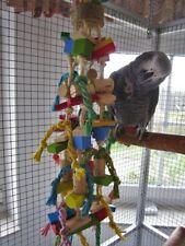 Papageienspielzeug: BIRDY PARTY FUN, aus Buchenholz u. Kork, Angebot, 72 Teile