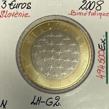 SLOVENIE - 3 EURO - 2008 // Pièce Neuve en Qualité : SUP