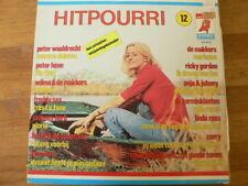 LP RECORD VINYL PIN-UP GIRL HITPOURRI 12 NEDERLANDS TALIG DURECO ELF 95.01