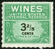 #RE183 3 2/5c Wines, Mint NGAI NH [3] **ANY 4=FREE SHIPPING**
