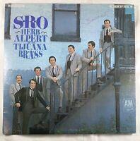 SRO Herb Alpert & The Tijuana Brass Vinyl Record LP