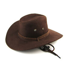 New Women Men Felt Fedora Hat Flat Felt Western Cowboy Cowgirl Hat Cap Jazz Hat
