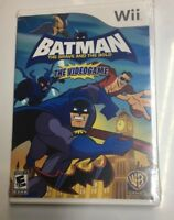 Wii Batman The Brave and the Bold The Video game  Nintendo Wii Brand New SEALED