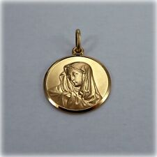 9ct Gold Our Lady Medallion
