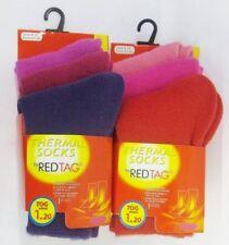 Calzini rosso per bambine dai 2 ai 16 anni