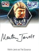 Dr Doctor Who 40th Anniversary Autograph Card WA13 Martin Jarvis as The Govenor