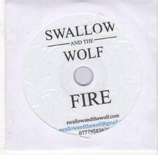 (EJ502) Swallow & The Wolf, Fire - DJ CD