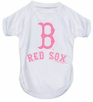 NEW BOSTON RED SOX PET DOG PINK PERFORMANCE T-SHIRT ACTIVE TEE ALL SIZES