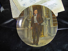 """Knowles """"Rhett"""" Fourth Collector Plate of Gone With the Wind 8.5 Inches"""