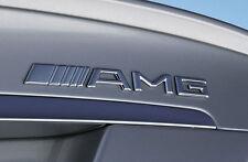 AMG Emblem Logo Schriftzug Badge B E C SL CLS S CL A SLK CLA Aufkleber decal 500