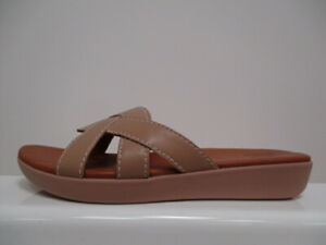 FitFlop Elyna Leather Slides Ladies UK 3 US 5 EUR 36 REF M1004+