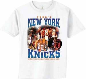 New York Knicks Vintage 1990s T-shirt NBA Basketball Team Champion 2021 Sport