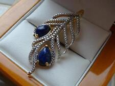 Diamond Feather Costume Necklaces & Pendants