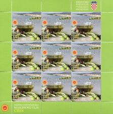 Croatia 2018 MNH Protected Agricultural Food Products 3x 9v MS Gastronomy Stamps