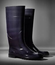 Burberry Mens Rain Boots- Italian Made- Impossible to Find