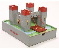 Castello in legno ponte levatoio My Mini Castle costruzioni calamite Le Toy Van