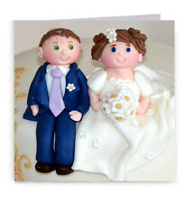 Mariage carte-félicitations gâteau