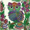 Owl DIY 5D Special Shaped Diamond Painting Embroidery Cross Stitch Craft Decor