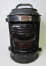 Antique Nautical Perko Perkins Brass Marine Lamp Lantern