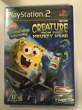 SpongeBob Squarepants: Creature from Krusty Krab For Sony Playstation 2 (PS2)
