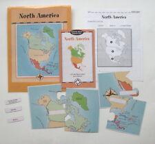 Evan Moor Geography Center Learning Resource Game North America